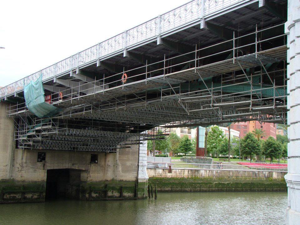 SENDO Ha Participado En La Reparación Del Vano Móvil Del Puente De Deusto (Bilbao)