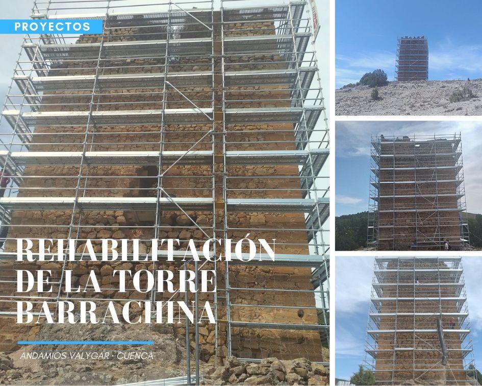 REHABILITACIÓN TORRE BARRACHINA (CUENCA)