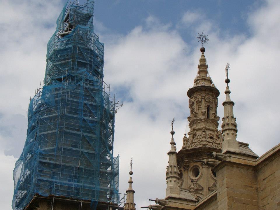 Catedral De Logroño - Andamios Modulares, Tubulares Y Multidireccionales - Empresas De Andamios