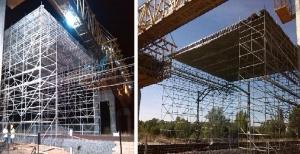 SENDO En La Construcción Del Viaducto Del AVE