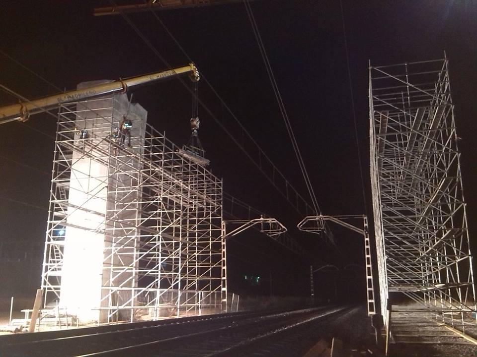 Viaducto Del AVE - Andamios Modulares, Tubulares Y Multidireccionales - Empresas De Andamios