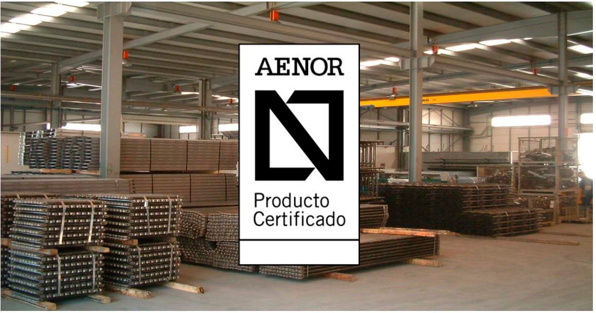 RENOVACION CERTIFICADO DE PRODUCTO AENOR