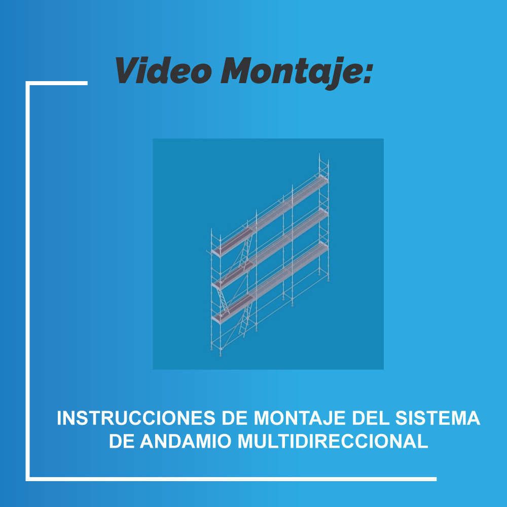 Video Montaje: Sistema De Andamio Multidireccional